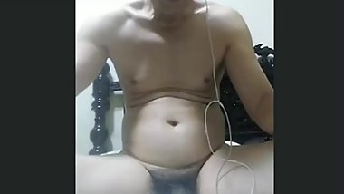 Chinese Asian old man WebCam sex中国中年大叔视频飞机。