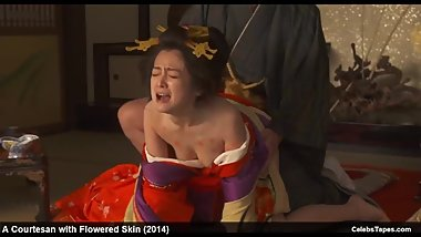 Yumi Adachi nude and rough doggy style sex actions