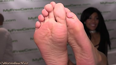 Close up of Pornstar Feet