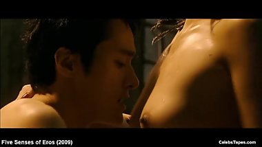Chong-Ok Bae & Jeong-hwa Eom nude and hot sex actions in movie