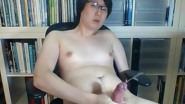 Singapore boy cums and cums