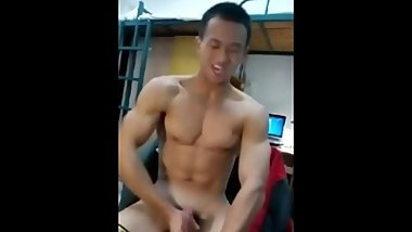 Chinese Boy Show Album 06 - hunk in dorm