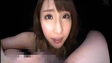 Asian Pov Kiss and spit and blowjob