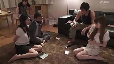 IPZ-508 Intruders having fun with housewife, her boss and his wife.