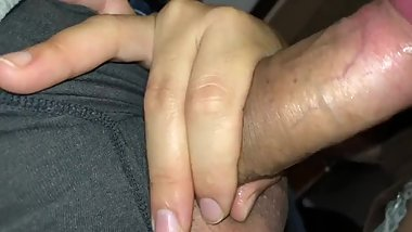 Let my sisters husband cum all over my face