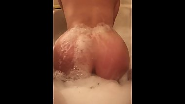 Bath time with big booty Judy )