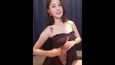 Korean BJ Big Tit ! live webcam show nude