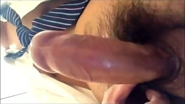 上彎西裝男自拍打射 Upcurved dick suit man cumming