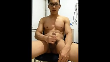 Chinese Boy Show Album 03 - muscle huge cum