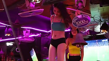 Phuket Nightlife Vlog - Beautiful Costume Agogo Dancers