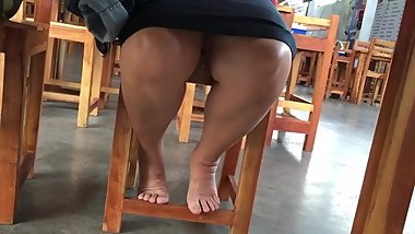 Voyeur upskirt thai teacher
