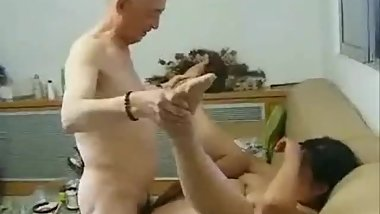 old Asian fucker
