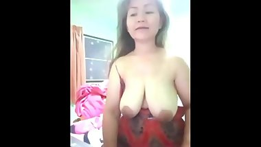 cute granny Showing Her Tits