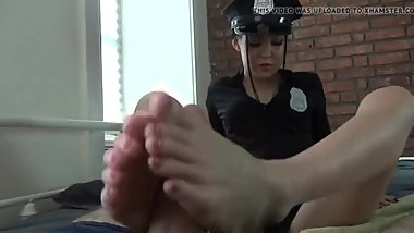 Asian Giving The Best Footjob